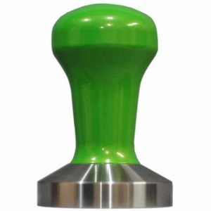 Sublime Green Powder Coat Coffee Tamper Set 58mm Stainless Steel Base - Reg Barber-0