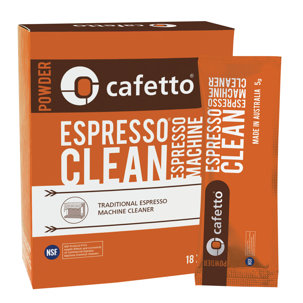 Cafetto Espresso Clean Sachets Cafetto Machine Cleaner
