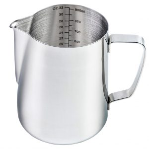 Buy 950ml Stainless Steel Milk Jug Of Barista Progear Online