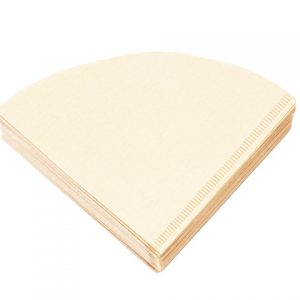 100 Pack Natural Filter Paper for 2-4 Cup Drippers-0