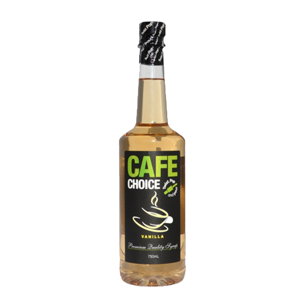 Buy Cafe Choice Vanilla Syrup in 750ml Online