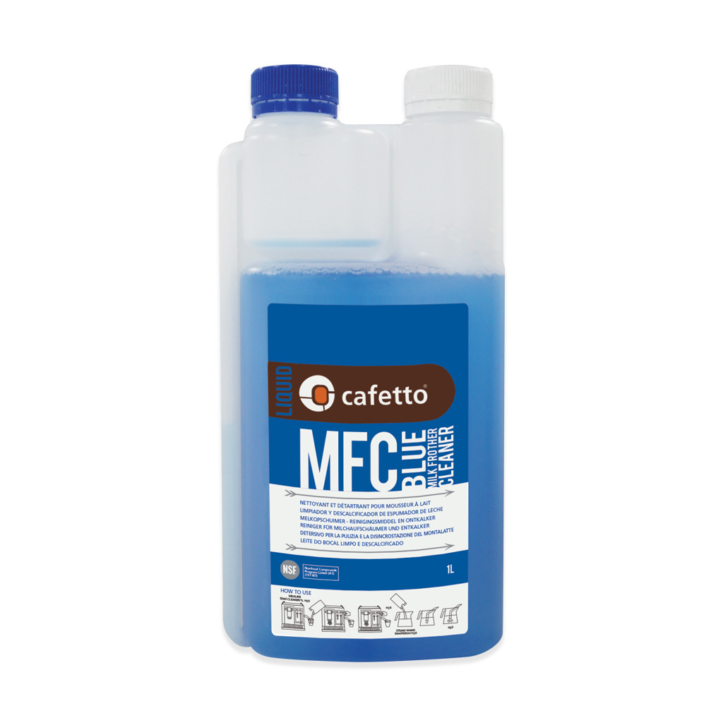 Cafetto Milk Froth Cleaner MFC Blue 1lt