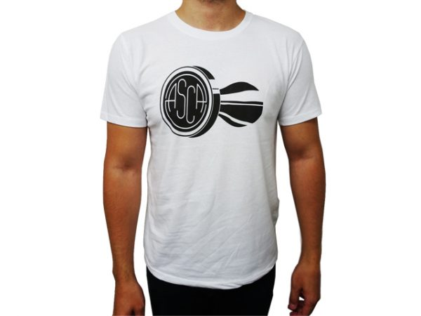 ASCA Mens White T-Shirt-3277