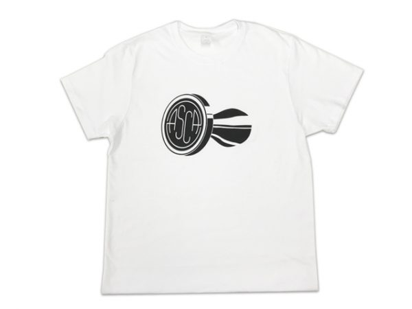 ASCA Mens White T-Shirt-0