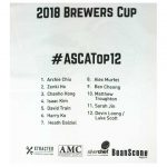 ASCA Top 12 Brewers Cup Championship T-Shirt-3310