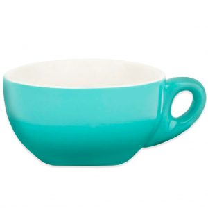 220ml Turquoise Cappuccino Cup Premier Tazze