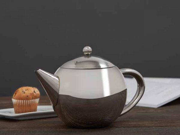 6 Cup/1.2Lt Stainless Steel Teapot with Infuser -3526
