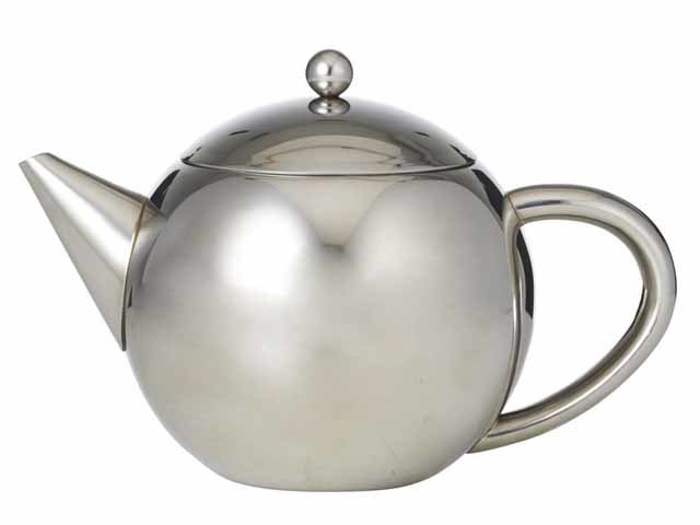 Buy Online 6 Cup/1.2Lt Stainless Steel Teapot With Infuser