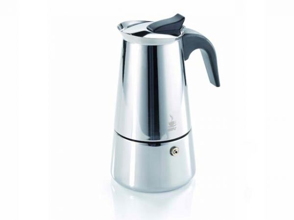 6 Cup Emillo Stainless Steel Espresso Maker-0