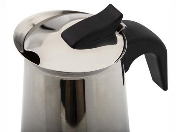 6 Cup Emillo Stainless Steel Espresso Maker-3591