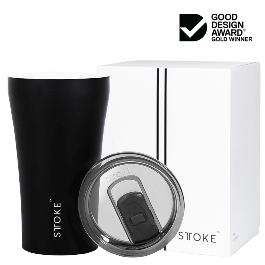 Buy Black Sttoke Reusable Cup in 12oz Online
