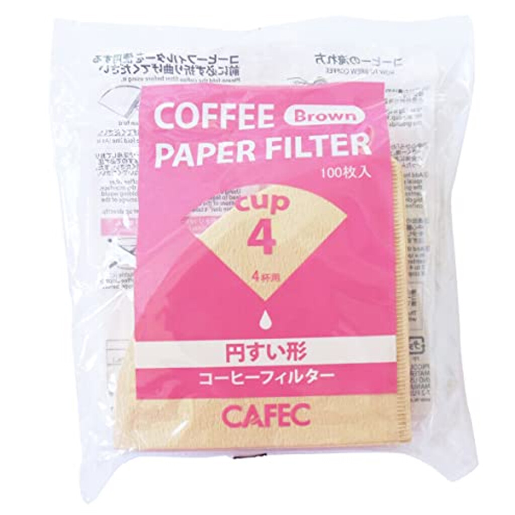 Brown Natural Pour Over Filter Paper