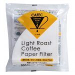 2 Cup Cafec Light Roast Filter Paper 100 Pack