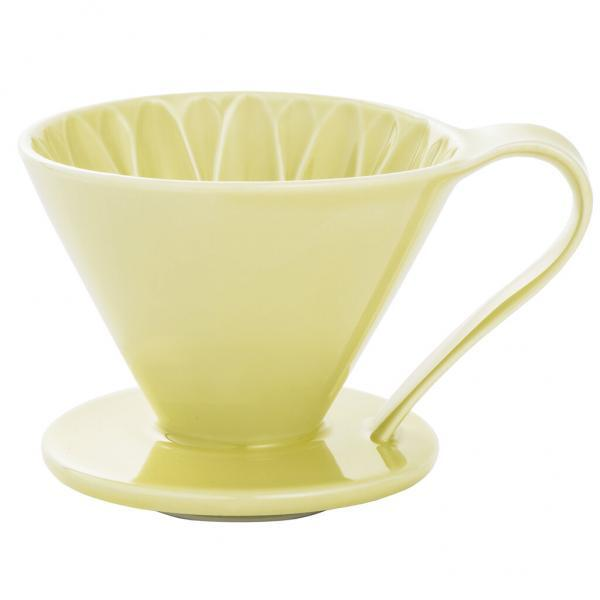 2 Cup Cafec Yellow Coffee Dripper