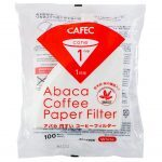 Cafec Abaca 1 Cup Pour Over Filter Paper