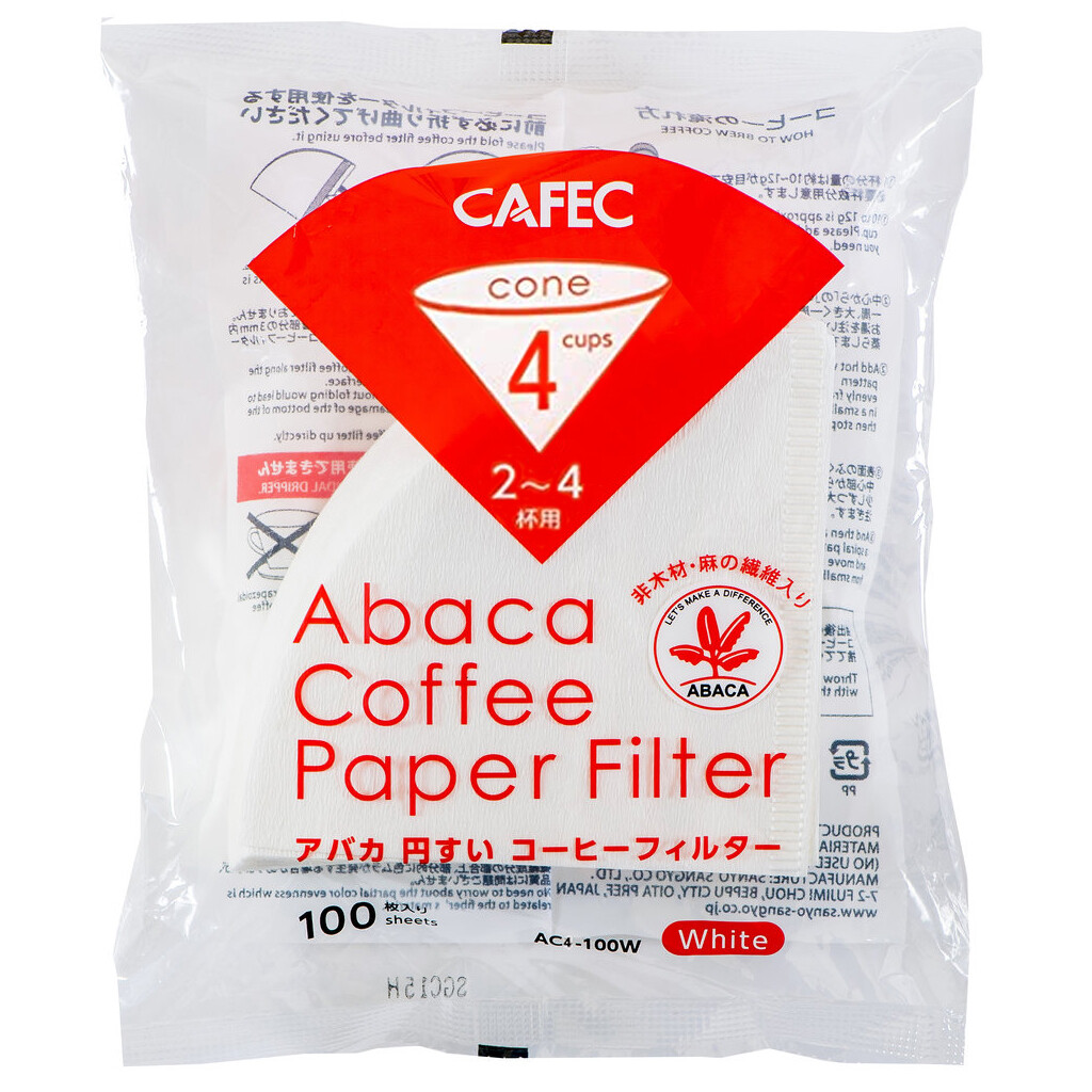 Abaca Pour Over Filter Paper