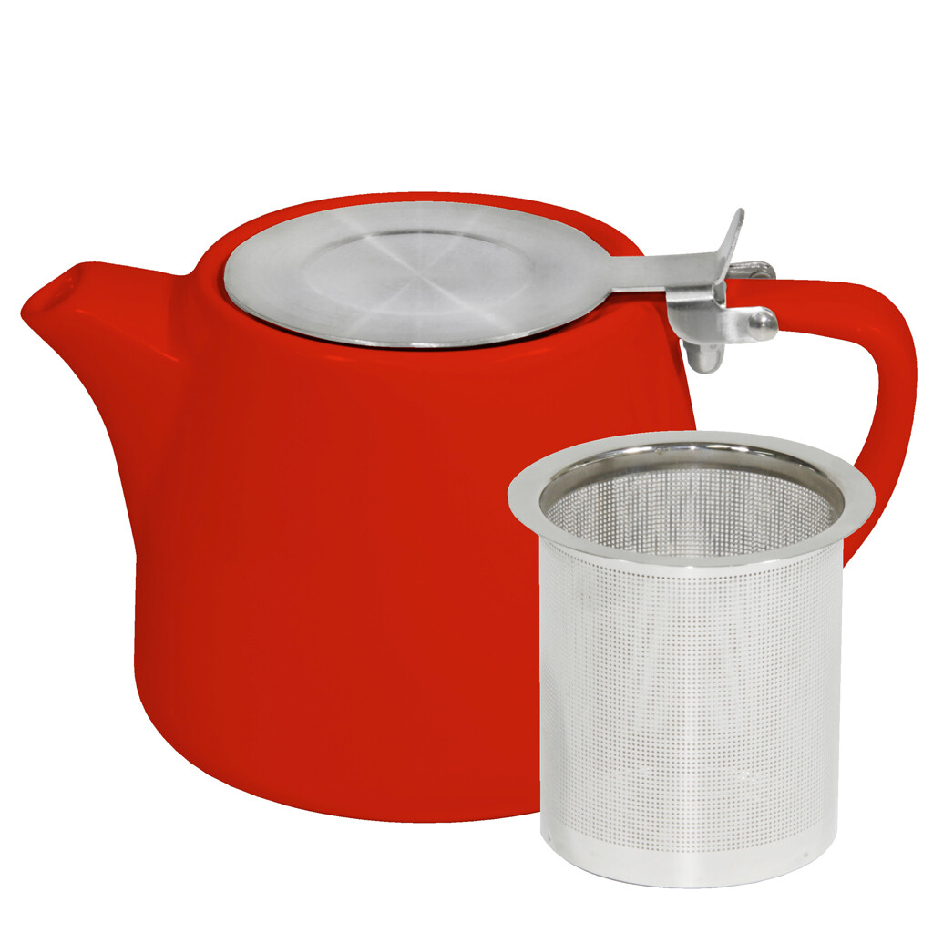 Buy Red Stackable Infusion Teapot in 500ml