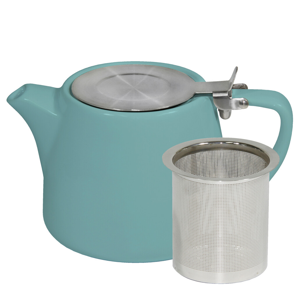 Buy Teal Stackable Infusion Teapot in 500ml