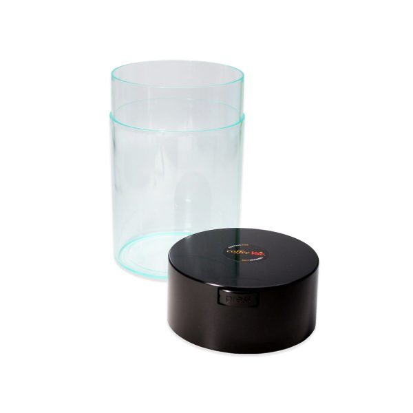 Clear 250g CoffeeVac Coffee Storage Container