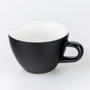Matt Black 180ml Crema Cups