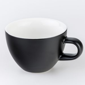 Matt Black 220ml Crema Cups