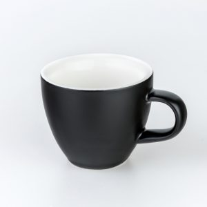 Matt Black Crema Espresso Cups