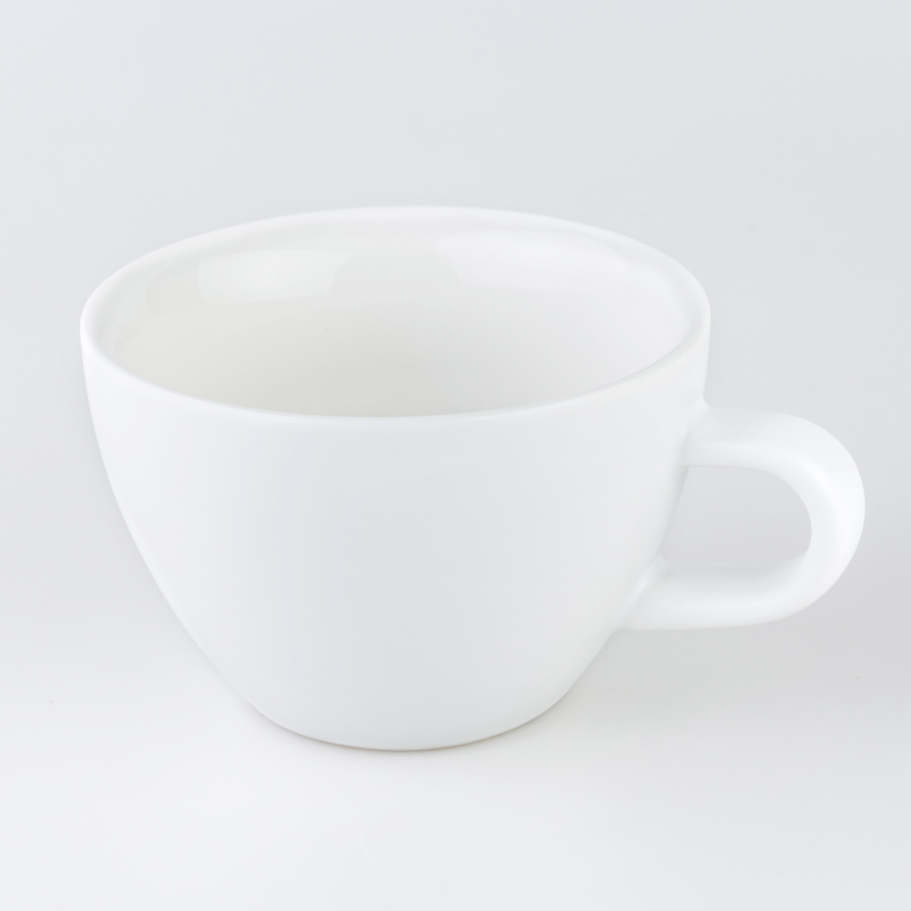 Matt White 180ml Crema Cups