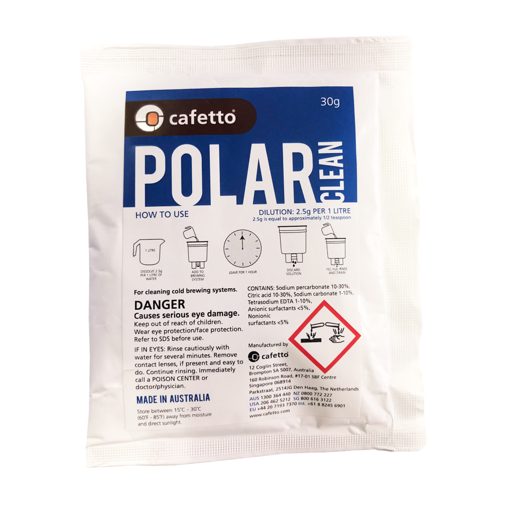 Cafetto Polar Clean Cold Brew Cleaner Cafetto 30g