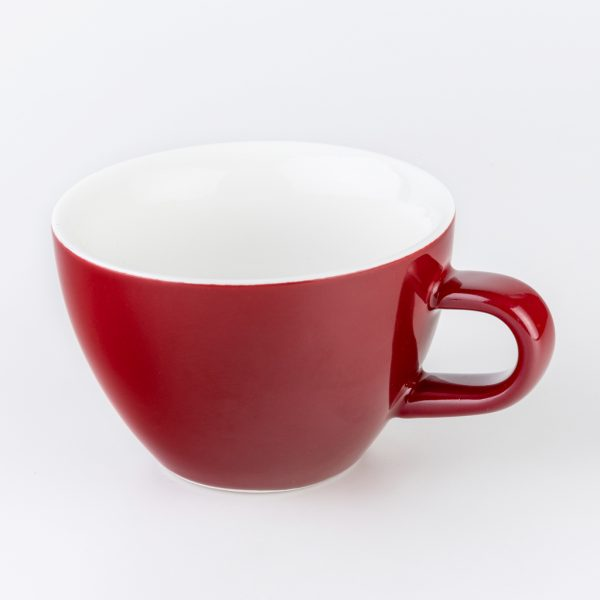 Red 180ml Crema Cups