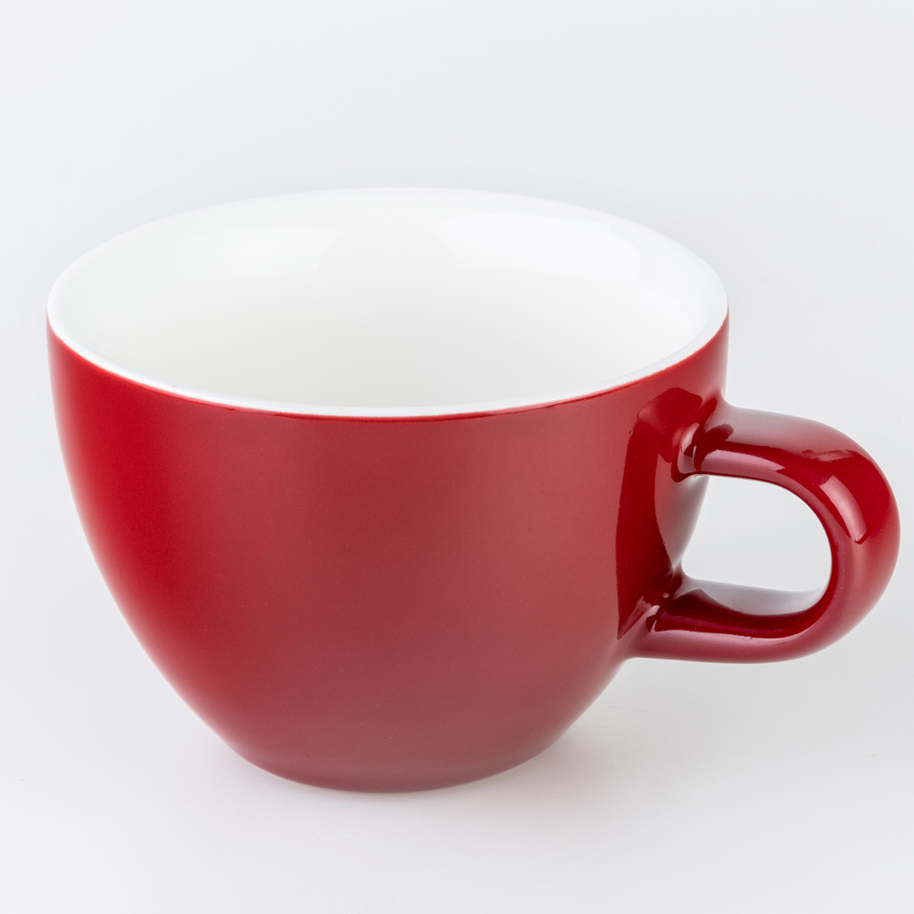 Red 220ml Crema Cups