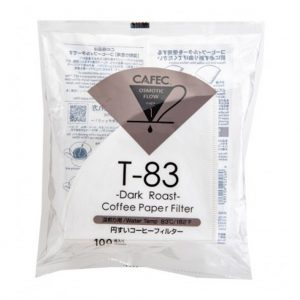 1 Cup Cafec Dark Roast Filter Paper 100 Pack