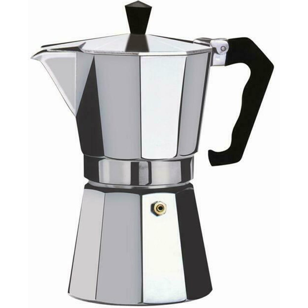9 Cup Moka Pot Coffee Maker