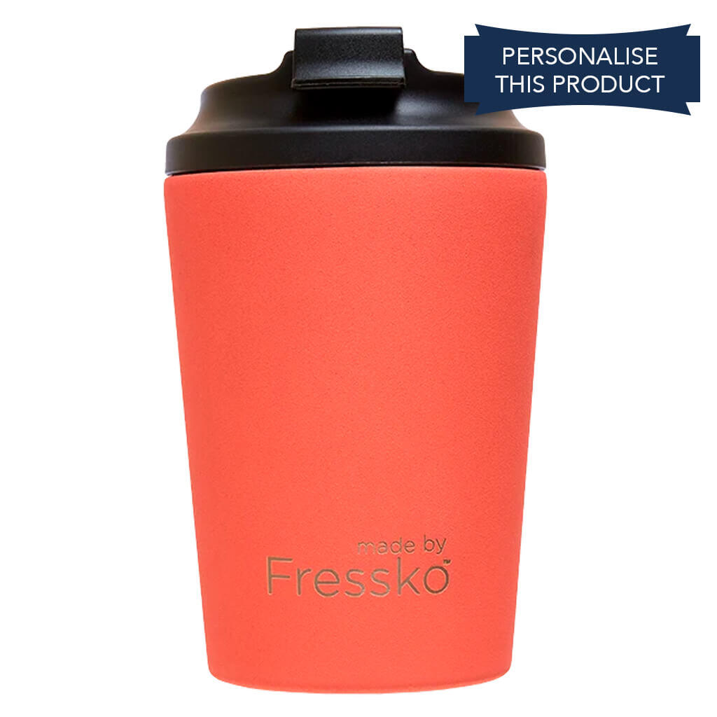 Fressko 12oz Coral Red Reusable Coffee Cup