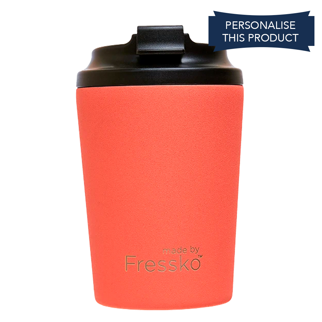 Fressko 8oz Red Coral Reusable Coffee Cup