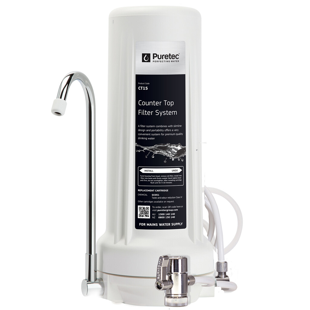 Puretec Counter Top Water Filter System
