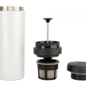 Buy Online White Espro Coffee Travel Press